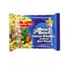 Instant Noodles - Beef Flavour - LUCKY ME
