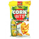 CORN BITS Corn Snack - ORIGINAL Super Garlic Flavour 100g - W.L.