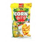CORN BITS Corn Snack - ORIGINAL Super Garlic Flavour 100g - W.L.