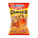 GOLDEN Fish Crackers - Original 100g - NARITA